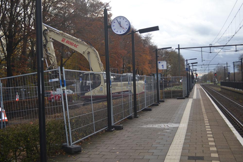 Bodemsanering parkeerplaats NS Brummen